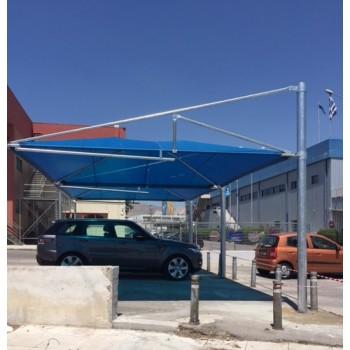 στεγαστρα παρκινγκ - Σκιαστρο parking ομπρελα