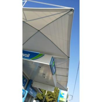 Στεγαστρα - Συστημα σκιασης βενζιναδικου
