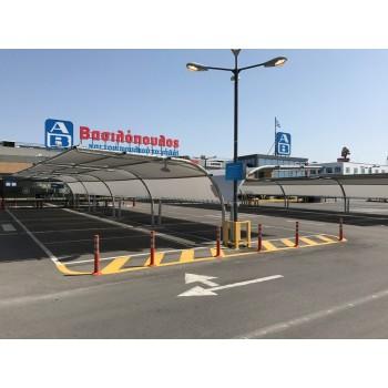 στεγαστρα παρκινγκ - Σύστημα σκίασης υπαίθριων χώρων