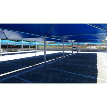 στεγαστρα αυτοκινητων - Αντικριστή ομπρέλα για σκιαση αυτοκινητων σε Parking