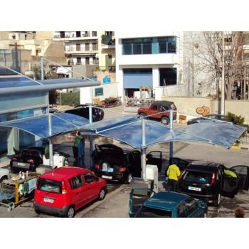 Στεγαστρα - στέγαστρα αυτοκινήτων με πολυκαρβονικά φύλλα Στέγαστρα για Πλυντήρια ATLAS STEG | ΣΤΕΓΑΣΤΡΑ ΑΥΤΟΚΙΝΗΤΩΝ - ΣΤΕΓΑΣΤΡΑ ΠΑΡΚΙΝΚ