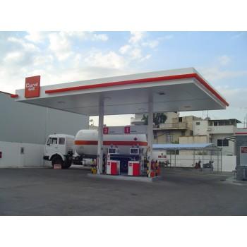 Στεγαστρα - Στέγαστρο πρατηρίου υγρών καυσίμων